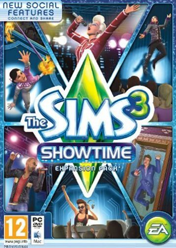Sims 3 Showtime  GAME NEW