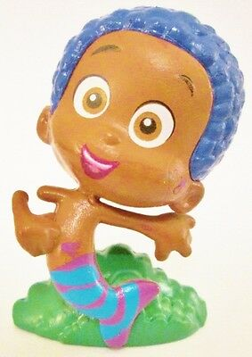 GOBY Nickelodeon TV BUBBLE GUPPIES BOY PVC TOY Figure CUP CAKE TOPPER - Bubble Guppies Cups