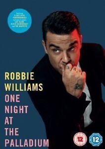 Robbie Williams One Night At The Palladium (DVD, 2013) NEW SEALED Region 2 PAL