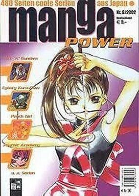 Manga Power Nr. 6 u.a Peach Girl, Chobits, Turn A Gundam, Psychic Academy