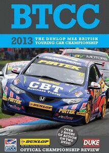 BTCC British Touring Car Championship - Official Review 2013 (2 DVD set) New