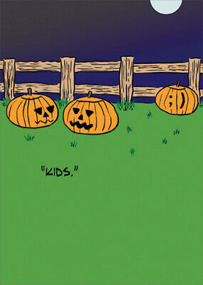 Funny Halloween Cards (Kids Funny Halloween Card - Greeting Card by Allport)