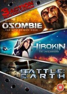 OZ0MBIE- AXIS OF EVIL DEAD//HIROKIN - LAST SAMURAI//BATTLE:EARTH - NEW(L70){DVD}