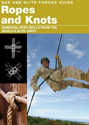 Sas & Elite Forces: Ropes And Knots  BOOK NEW