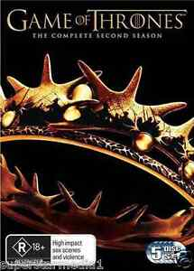 Game Of Thrones SEASON 2 : NEW DVD
