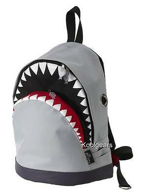 Shark Backpack Medium Grey Morn Creations Bag Kindergarten Pre School Child Tale