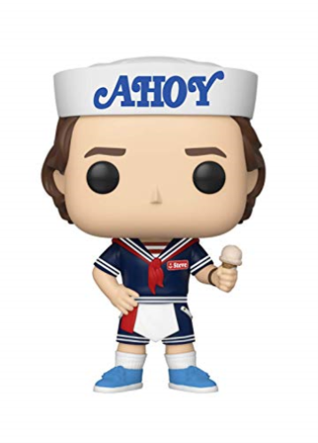 FUNKO-POP! TV: STRANGER THINGS-STEVE WITH HAT AND IC (Importación USA) ACC NUEVO