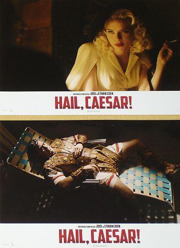 HAIL, CAESAR! - Lobby Cards Set - Josh Brolin, George Clooney, Joel Coen