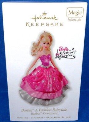 2010 Barbie a Fashion Fairytale Hallmark Magic Ornament