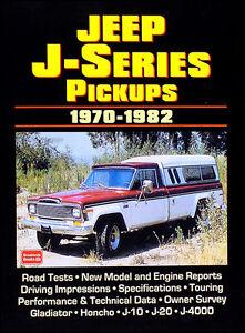 26 articles on 1970-1982 Jeep Pickup Truck J10 J20 J4000 Gladiator Honcho Book