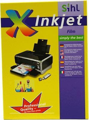 100 Bl.A4 Overheadfolie OHP Folien Inkjet Tintenstrahldrucker mit Sensorstreifen