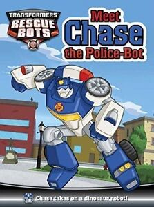 Good, Meet Chase the Police Bot, Louise McDowell, Book