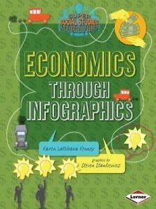 Economics Through Infographics by Karen Latchana Kenney (Paperback / softback)