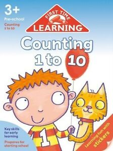 First Time Learning Counting 1 To 10, Kay Massey, New Book