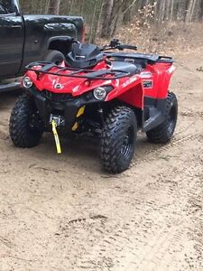 Stock Rims and Tires 2017 CanAm Outlander