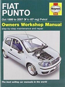 Fiat Punto Petrol Service and Repair Manual: 1999-2007 by R. M. Jex, John S. Me…