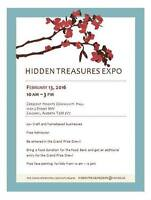 Hidden Treasures Expo on Feb. 13, 2016