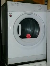 Hotpoint 7kg Vented Dryer & 6 month warranty