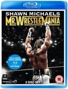 WWE - Shawn Michaels - Mr. WrestleMania (Blu-ray, 2014, 2-Disc Set)