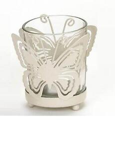 Butterfly-Design-TEALIGHT-HOLDER-candle-tea-light-metal-glass-handcrafted