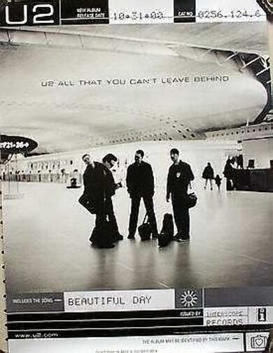 U2 2000 all you can