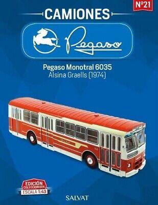 Pegaso Monotral 6035 - Alsina Graells 1974 Esc 1:43