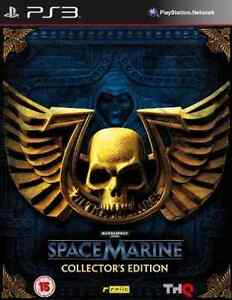 PS3-Warhammer 40.000: Space Marine Collectors Edition /PS3  GAME NEW