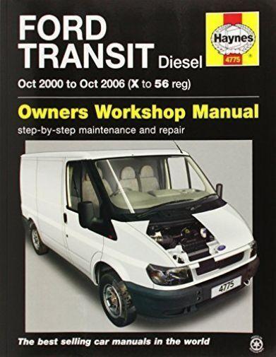 Haynes Manual Ford Transit 2.0 2.4 Diesel 2000-06 Workshop Manual