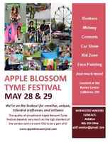 VENDORS WANTED - Apple Blossom Tyme Festival