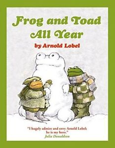 Frog and Toad All Year (Frog and Toad), Lobel, Arnold, New Book