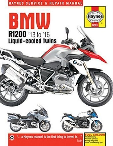 Haynes Manual BMW R1200 2013-16 DOHC Twins Workshop Manual