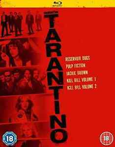 Quentin Tarantino Collection  Blu-Ray NEW
