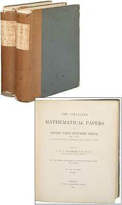 Collected Mathematical Papers - Henry John Stephen J W L / Collected Mathematical Papers of Henry John Stephen