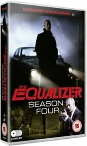The Equaliser - Series 4 - Complete (DVD, 6-Disc Set) - New and Sealed