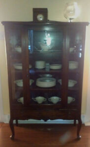 Antique Knetchel Dining Set plus China Cabinet and Cuttlery Desk Gatineau Ottawa / Gatineau Area image 3