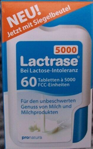Lactrase 6000 FCC 60St   10950122 ersetzt zum gleich Preis die alten  5000 A