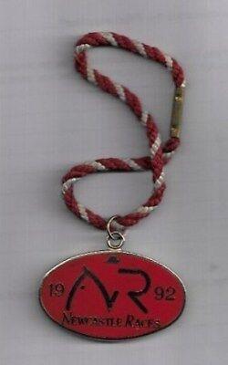 Newcastle 1992 Horse Racing Members Badge