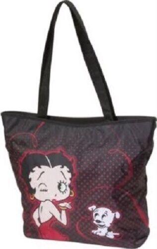 Betty Boop Folding Tote Bag