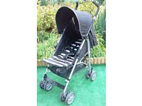 Buggy only used once !! No raincover however hence price £20