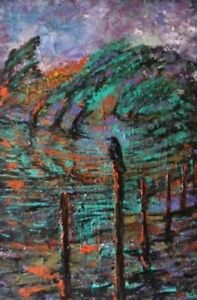 Paintings-Originals in acrylics by Canadian Artist Carl Parker
