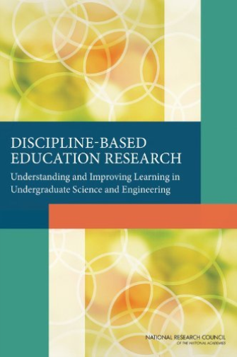 Discipline-Based Education Research  BOOK NEW