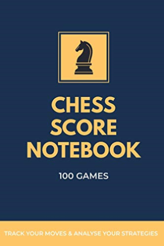 Buy Best Chess Books Hub-Chess Score Notebook 100 Games T BOOK NEW.