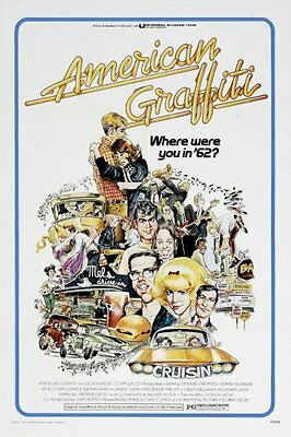 American Graffiti Movie Poster  01 24X36