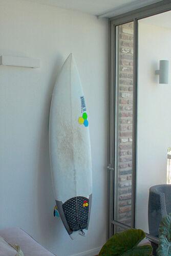 BNIB Surf Board Wall Rack Orange Led Light Store Your Board Wall Ignited Rack
