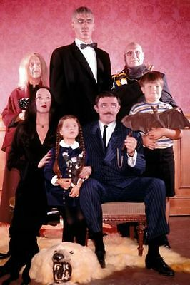 Addams Family Tv Poster 24in x36in Addams Family-tv