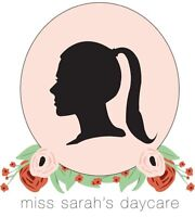 Miss. Sarah's Day Care (Christian daycare in Westshore!)