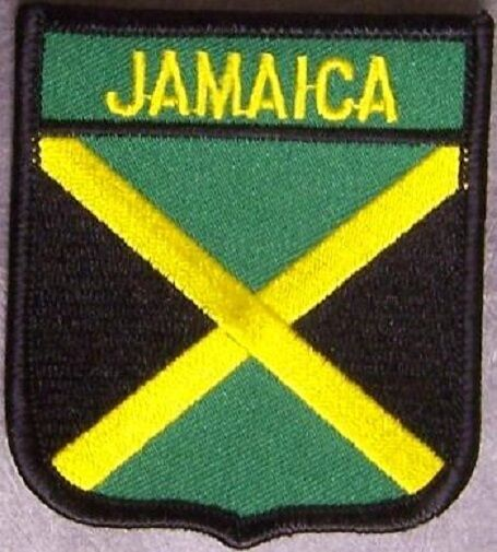 Embroidered International Patch National Flag of Jamaica NEW bunting