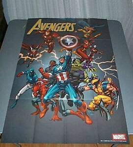 Marvel-Avengers-poster-1-Spider-man-Hulk-Thor-Wolverine-Captain-America-Iron-Man