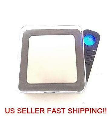 Digital Pocket Scale Blade 100 Gram x 0.01g Ounce Jewelry Carat Grain Black