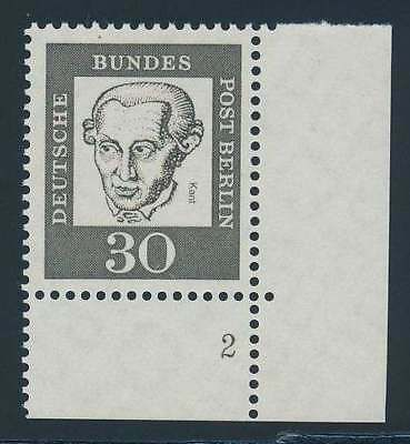 Berlin Nr. 206 FN postfrisch / **, Eckrand Ecke 4 Formnummer 2 (39610)